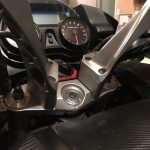 2 inch handlebar risers added to the Concours