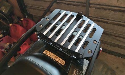 Phil's farkles – rear luggage rack (strong)